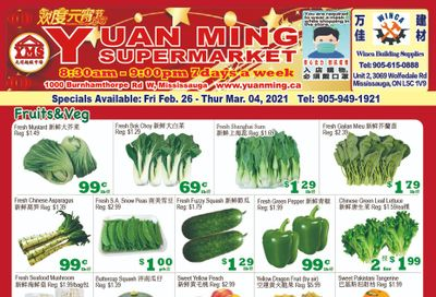 Yuan Ming Supermarket Flyer February 26 to March 4