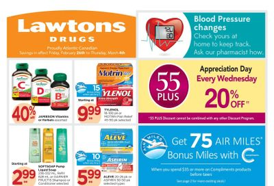 Lawtons Drugs Flyer February 26 to March 4