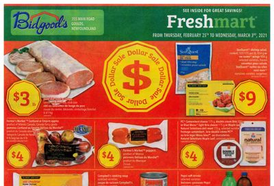 Bidgood's Flyer February 25 to March 3