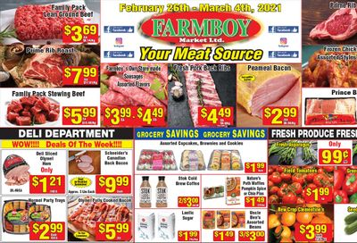 Farmboy Peterborough Flyer February 26 to March 4