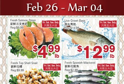 First Choice Supermarket Flyer February 26 to March 4