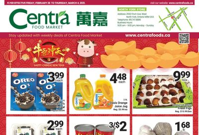 Centra Foods (North York) Flyer February 26 to March 4