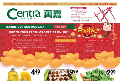 Centra Foods (Barrie) Flyer February 26 to March 4