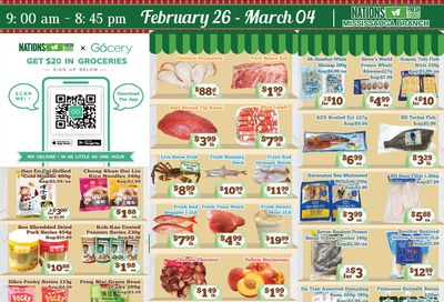 Nations Fresh Foods (Mississauga) Flyer February 26 to March 4