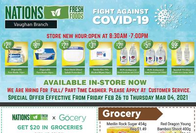 Nations Fresh Foods (Vaughan) Flyer February 26 to March 4