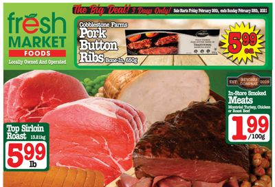 Fresh Market Foods Flyer February 26 to March 4