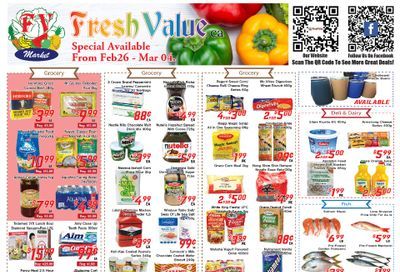 Fresh Value Flyer February 26 to March 4