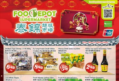 Food Depot Supermarket Flyer February 26 to March 4