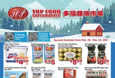 Top Food Supermarket Flyer February 26 to March 4