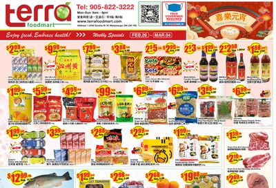 Terra Foodmart Flyer February 26 to March 4