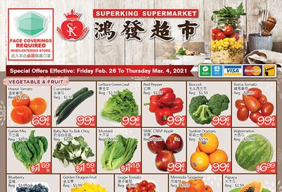 Superking Supermarket (North York) Flyer February 26 to March 4
