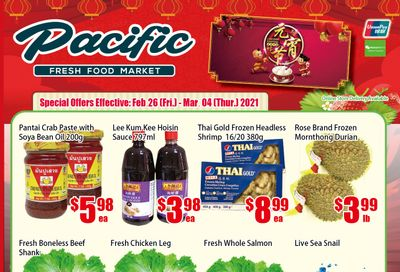 Pacific Fresh Food Market (North York) Flyer February 26 to March 4