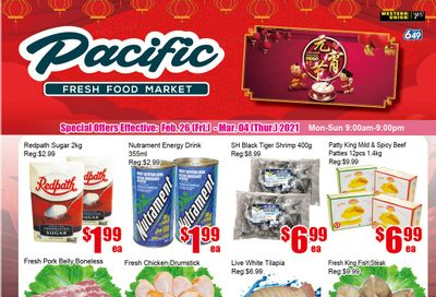 Pacific Fresh Food Market (Pickering) Flyer February 26 to March 4
