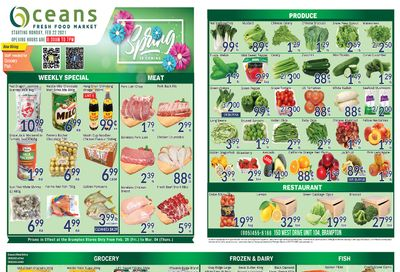 Oceans Fresh Food Market (Brampton) Flyer February 26 to March 4