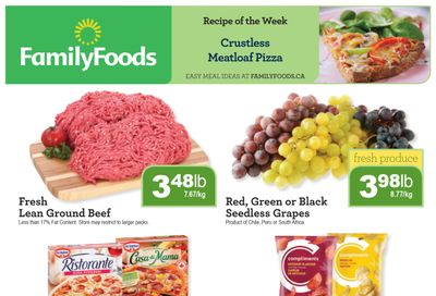 Family Foods Flyer February 26 to March 4
