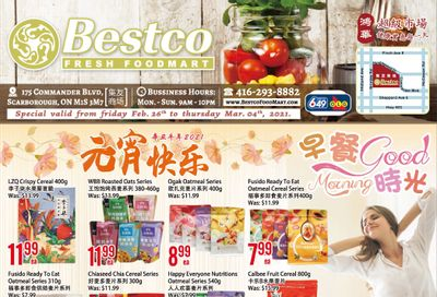BestCo Food Mart (Scarborough) Flyer February 26 to March 4