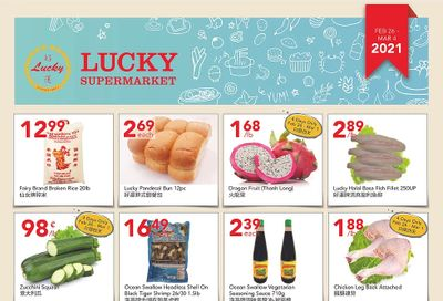 Lucky Supermarket (Edmonton) Flyer February 26 to March 4