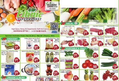 Ethnic Supermarket Flyer February 26 to March 4