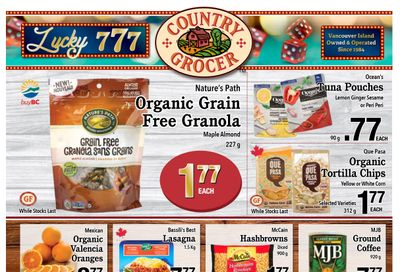 Country Grocer Flyer February 26 to March 4