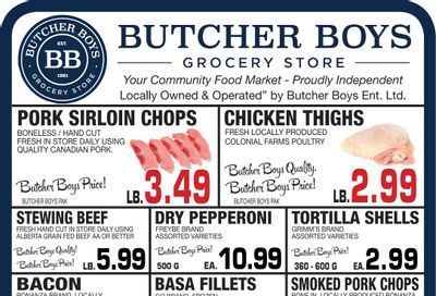 Butcher Boys Grocery Store Flyer February 26 to March 4