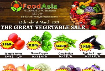 FoodAsia Flyer February 25 to March 1