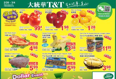 T&T Supermarket (AB) Flyer February 26 to March 4