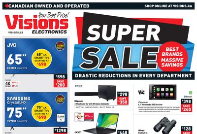 Visions Electronics Flyer February 26 to March 4