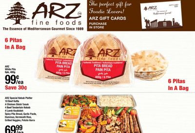 Arz Fine Foods Flyer February 26 to March 4