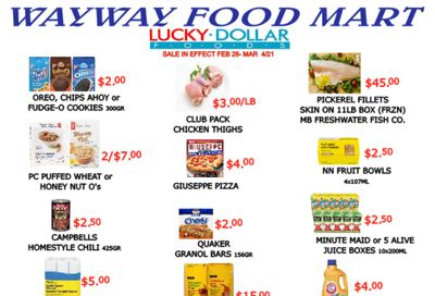 WayWay Food Mart Flyer February 26 to March 4