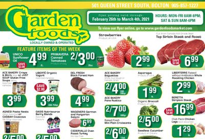 Garden Foods Flyer February 26 to March 4