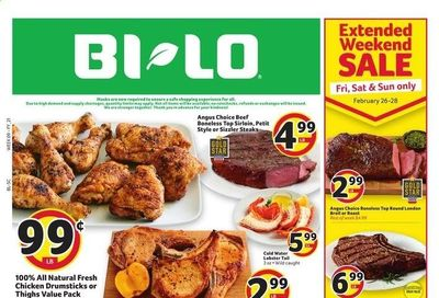 BI-LO Weekly Ad Flyer February 24 to March 2