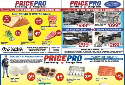 Price Pro Flyer February 24 to March 2