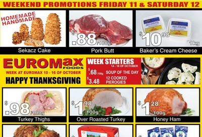 EuroMax Foods Flyer October 10 to 16