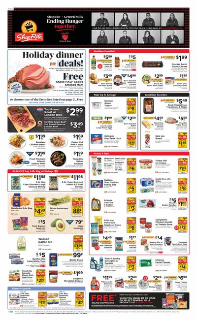 ShopRite (CT, DE, MD, NJ, NY, PA) Weekly Ad Flyer February 28 to March 6