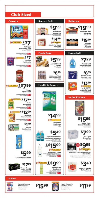 ShopRite (CT, DE, MD, NJ, NY, PA) Weekly Ad Flyer February 28 to March 27