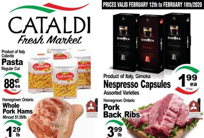 Cataldi Fresh Market Flyer February 12 to 18