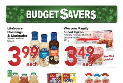Buy-Low Foods Budget Savers Flyer February 21 to March 27