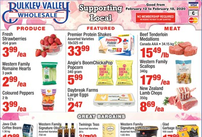 Bulkley Valley Wholesale Flyer February 12 to 18
