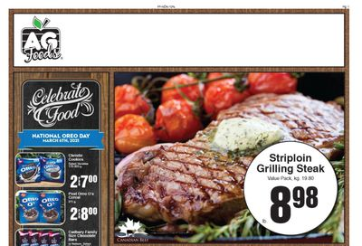 AG Foods Flyer February 28 to March 6