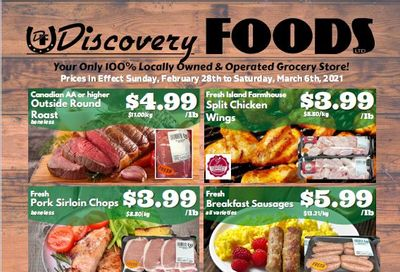 Discovery Foods Flyer February 28 to March 6