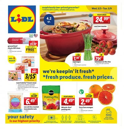 Lidl Weekly Ad Flyer March 3 to March 9