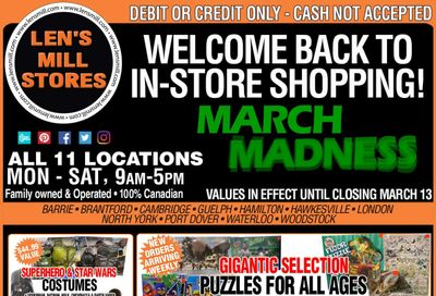 Len's Mill Stores Flyer February 28 to March 13