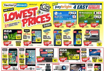 Factory Direct Flyer February 12 to 19