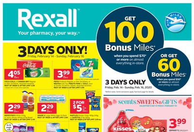 Rexall (West) Flyer February 14 to 20