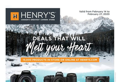 Henry's Flyer February 14 to 27