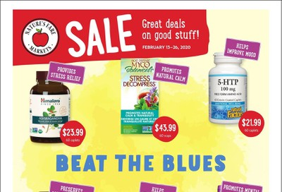Nature's Fare Markets Flyer February 13 to 26