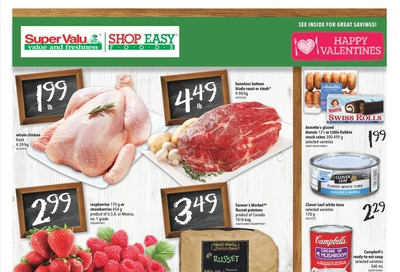 Shop Easy & SuperValu Flyer February 14 to 20