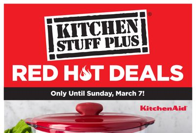 Kitchen Stuff Plus Red Hot Deals Flyer March 1 to 7