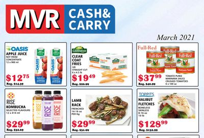 MVR Cash and Carry Flyer March 1 to 31