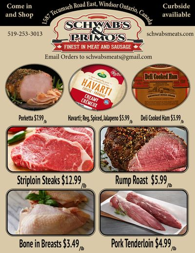 Schwab's & Primo's Flyer March 2 to 6